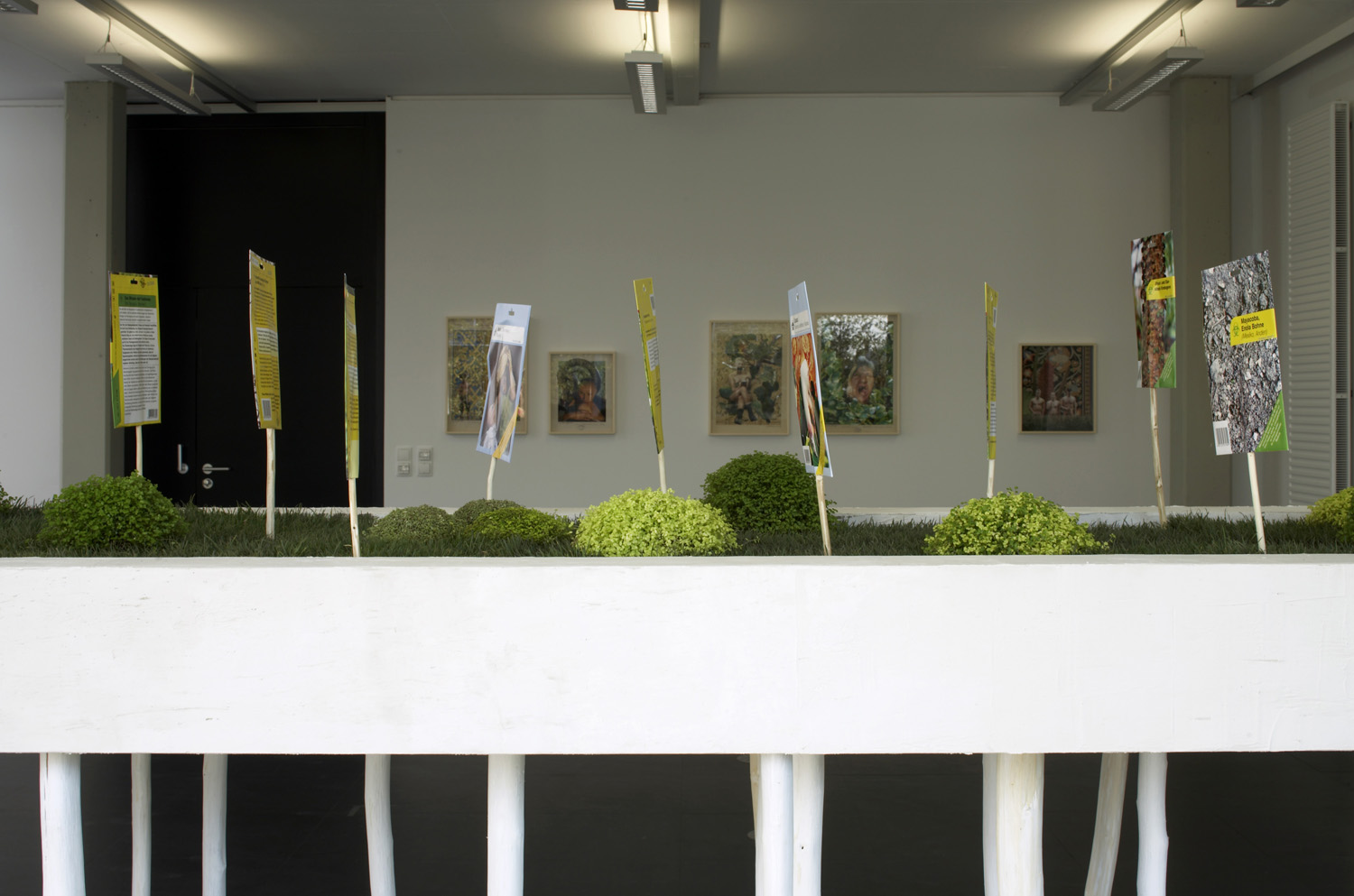 Ines Doujak — Victory Gardens, Kunstraum Lakeside, 2006   Photo: Johannes Puch