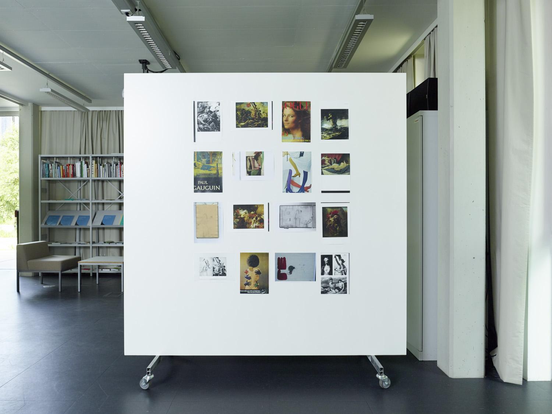 Ulrike Müller, Kunstraum Lakeside, 2014 | Foto: Johannes Puch