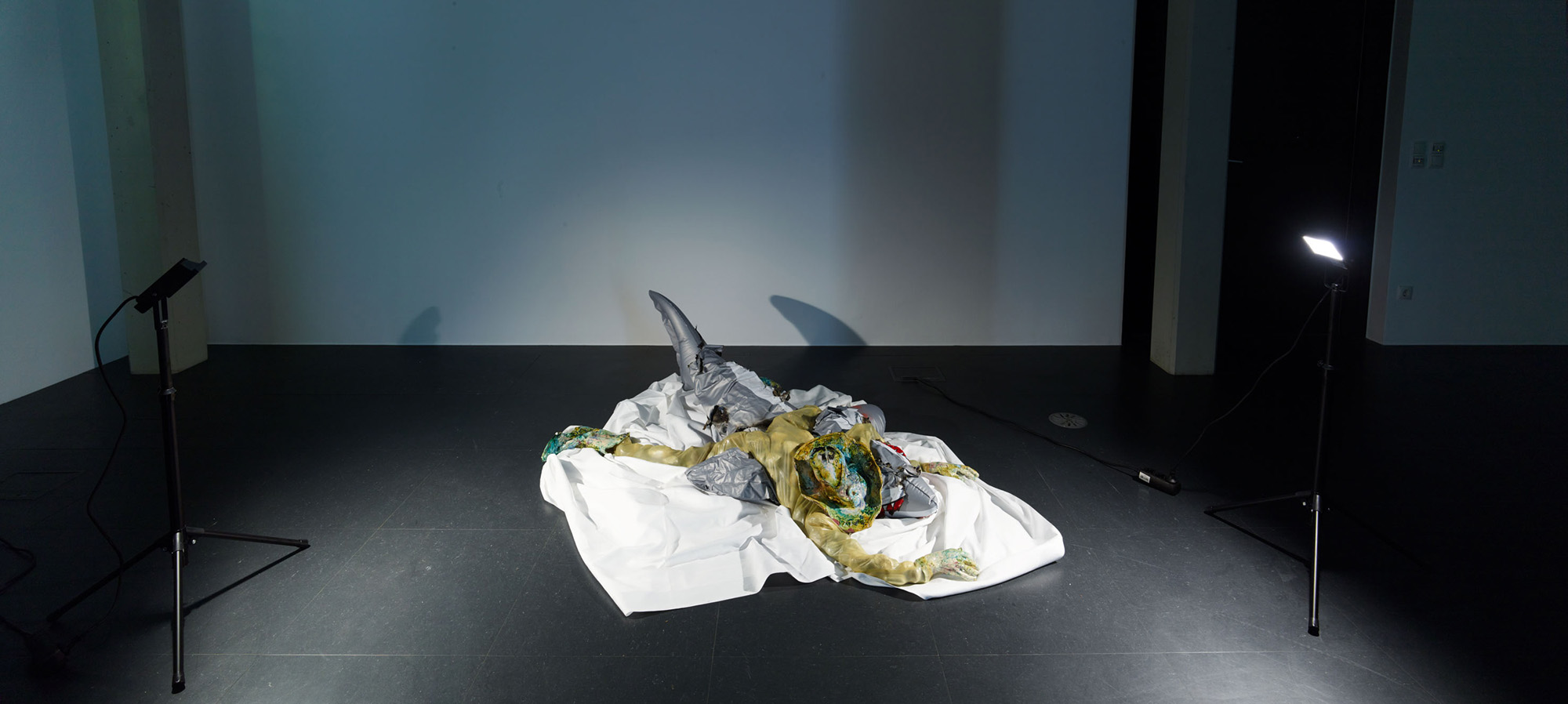 Kris Lemsalu — Afternoon Tear Drinker, Kunstraum Lakeside | Foto: Johannes Puch