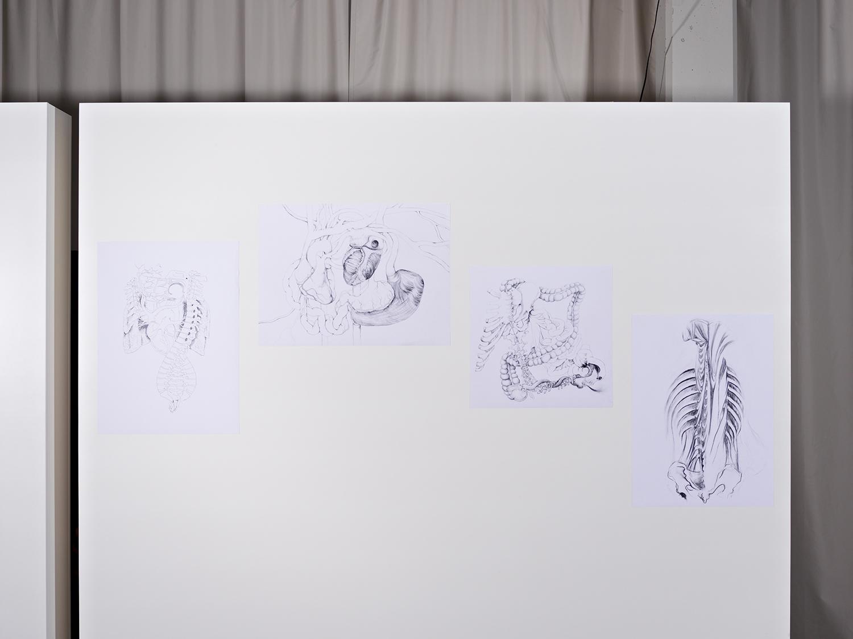 Über unheimliche Zustände und Körper (Gruppenausstellung) | Foto: Johannes Puch