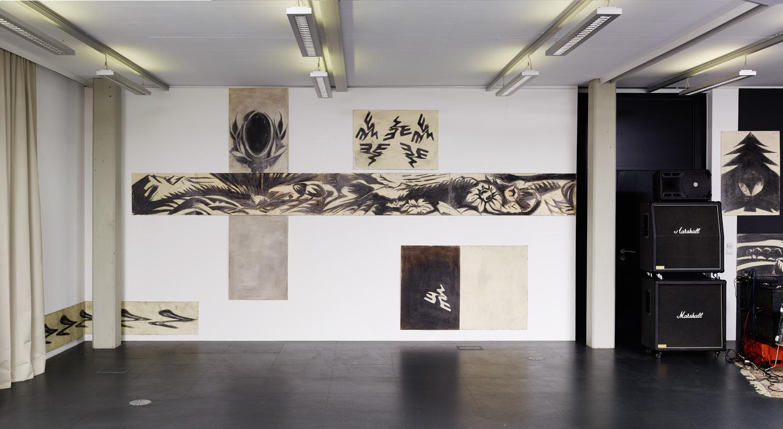 Siegfried Zaworka — Maniform Suspension, Kunstraum Lakeside, 2016 | Photo: Johannes Puch