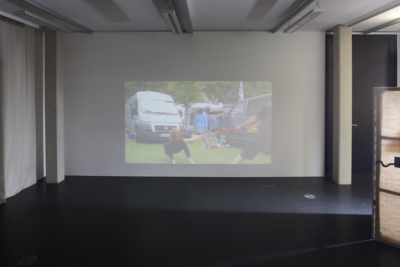 Kunst und Nation (Gruppenausstellung), Kunstraum Lakeside, 2016 | Foto: Johannes Puch