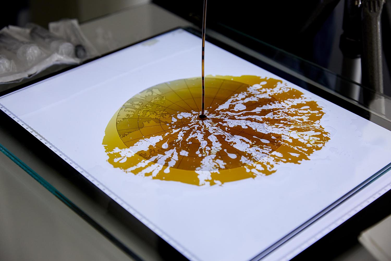 Statement #11 | Ernst Logar — Crude Oil Experiments | Photo: Johannes Puch